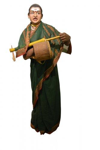 Jogati tradition involves the use of folk instrument chowdike.