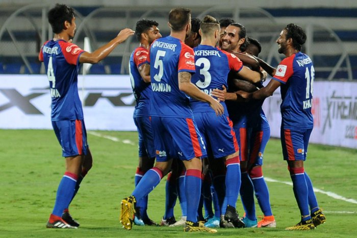 Moments like this were few and far between for defending champions Bengaluru FC who bowed out in semifinals after losing to ATK.
