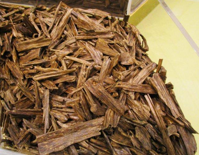 Agarwood, a natural disinfectant