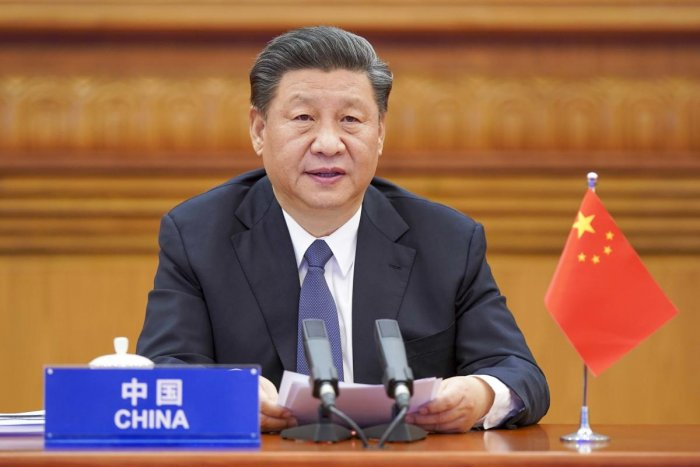 Beijing: In this photo released by Xinhua News Agency, Chinese President Xi Jinping attends the G20 Extraordinary Virtual Leaders' Summit on COVID-19 via video link in Beijing, capital of China, March 26, 2020. Leaders of the world's most powerful economi