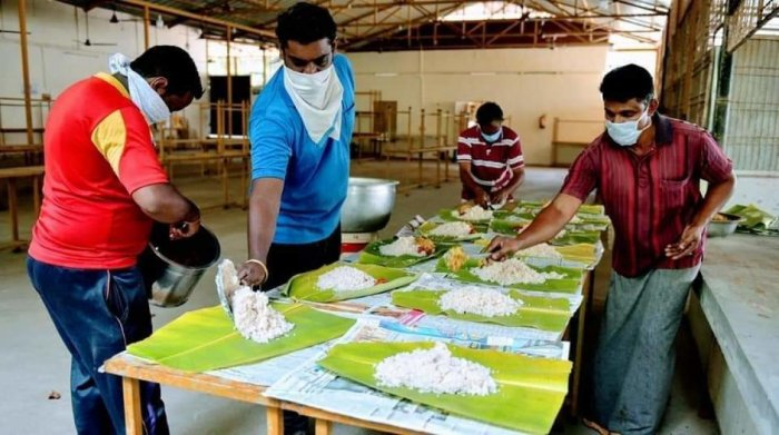 Kerala government initiated setting up of the community kitchens after it came across reports on scores of people of week sections, especially the homeless, struggling for food following the lockdown.