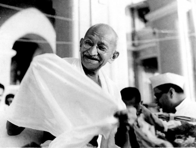 """From October 1 to October 4, an exhibition on the """"Life and Message of Gandhi"""" will be displayed in the Atrium of the City Hall of The Hague."""
