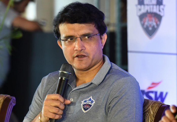 BCCI president-elect SouravGanguly. Photo/AFP
