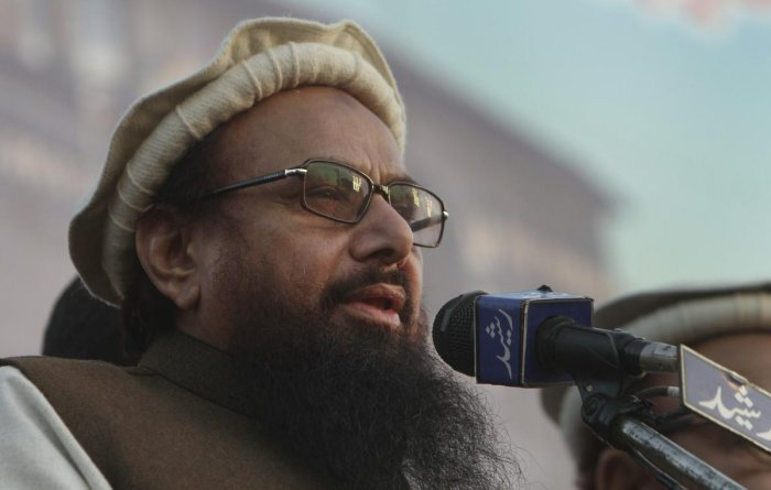 Saeed-led Jamaat-ud-Dawah is believed to be the front organisation for the LeT which is responsible for carrying out the 2008 Mumbai attacks that killed 166 people.Photo/PTI