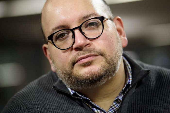 Jason Rezaian, who was detained by Iran. (AFP file photo)