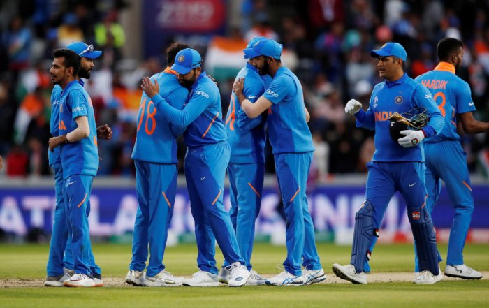 According to reports, India will don a new 'Orange' jersey against England. Photo credit: Reuters