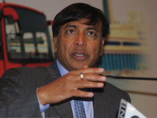 ArcelorMittal Chairman and CEO Lakshmi Mittal