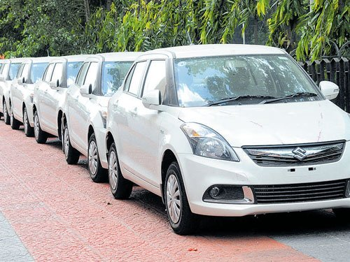 Demand for the diesel variant of vehicles has come down heavily as taxes on them are high and their registration expires in 10 years compared to 15 years for petrol variants. DH file photo