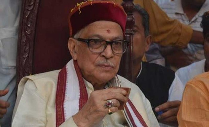 Joshi also visited the famous Kashi Vishwanath and Sankat Mochan temples here. He was BJP's president and a union minister in the NDA government from 1999 to 2004. PTI File photo