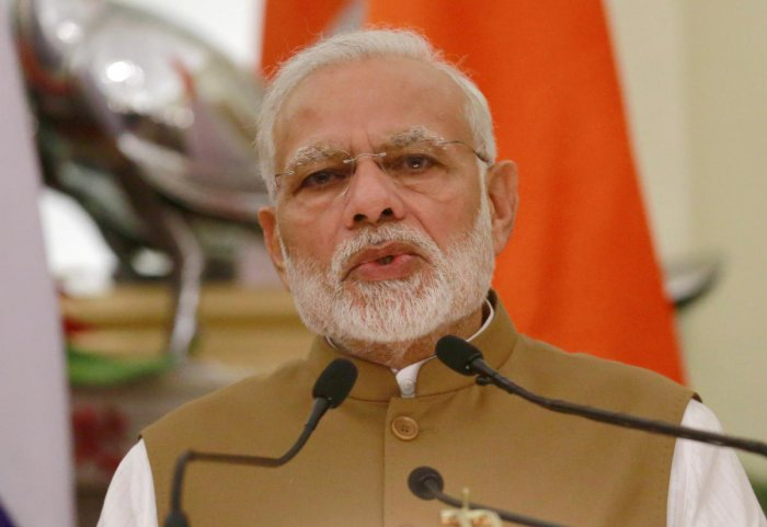 Modi said his overseas tours got noticed more because he interacted with people, took decisions and made heard the voice of India. Reuters file photo.