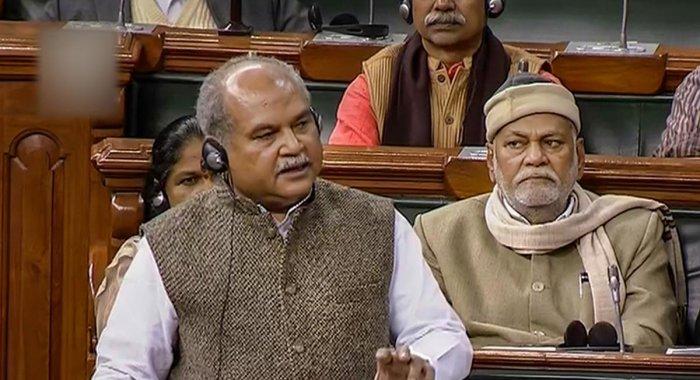 Narendra Singh Tomar. PTI/File