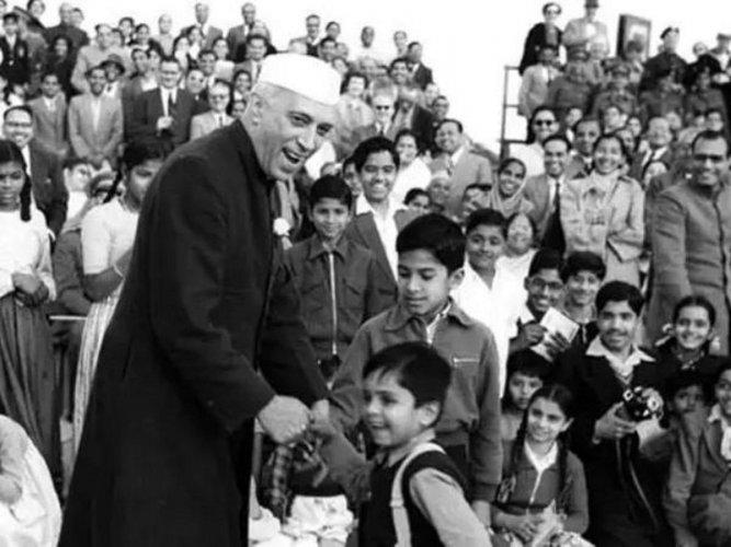 Jawaharlal Nehru (DH File photo)