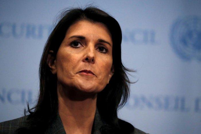 Nikki Haley. Reuters/File