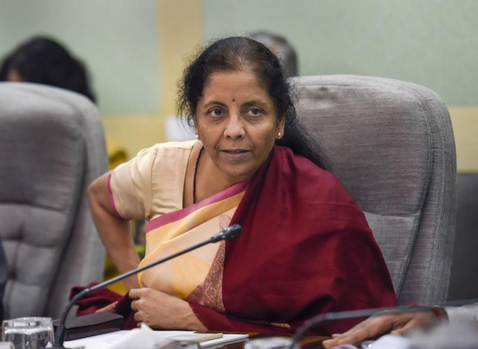 Sitharaman had on February 1 given a curtailed 161-minute speech presenting the Budget 2020-21. Credit: PTI