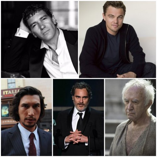 Oscars 2020 Best Actor nominees (Credit: Facebook)