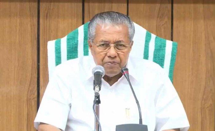 Kerala Chief Minister Pinarayi Vijayan. File photo