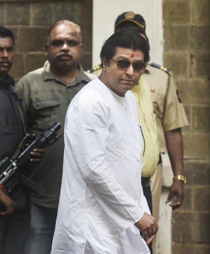 Raj Thackeray. PTI/file photo