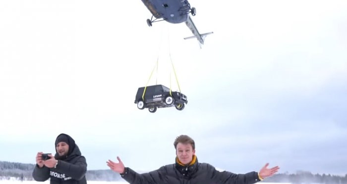 Igor saidthat he had a dream of buying a Mercedes AMG G63ar and he bought it in March 2018, and has been a nightmare for him since then, according to reports. (Screengrab from video)