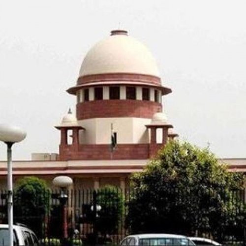 View of Supreme Court (DH Photo)