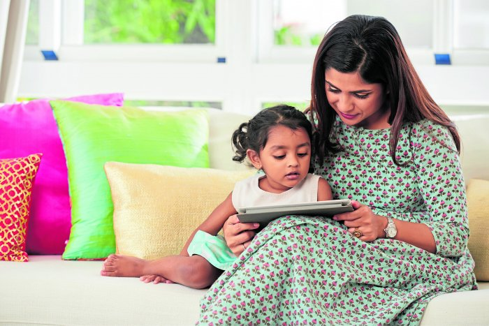Experts say that parents should keep a watch on their child's digital usage.