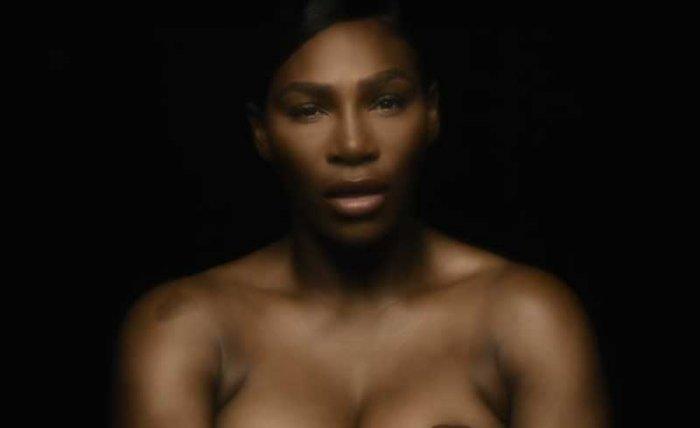 Serena Williams. Videograb.