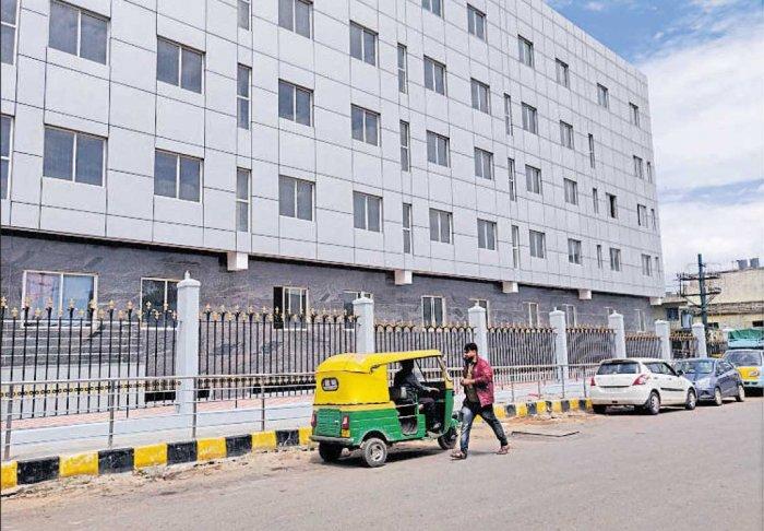 The hospital in Shivajinagar. Photo by special arrangement