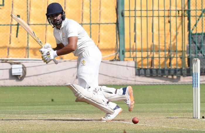 Karnataka captain Karun Nair. (DH Photo)