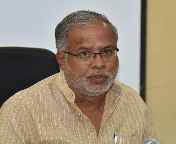 Primary and Secondary education minister S Suresh Kumar file photo ( Janardhan B K/DH Photo)
