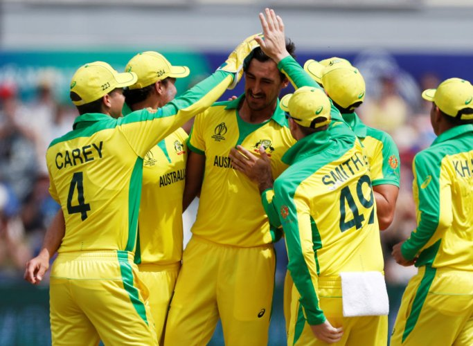 Mitchell Starc will be key to subdue Gayle. Photo credit: Reuters