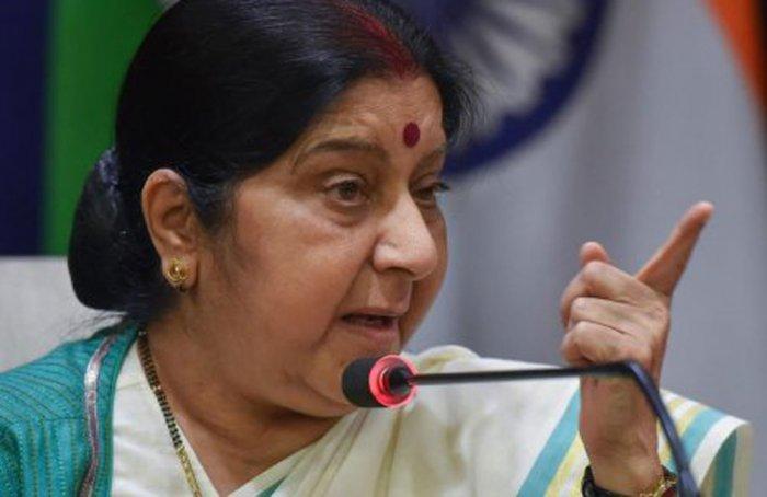 External Affairs Minister Sushma Swaraj. (PTI File Photo/)