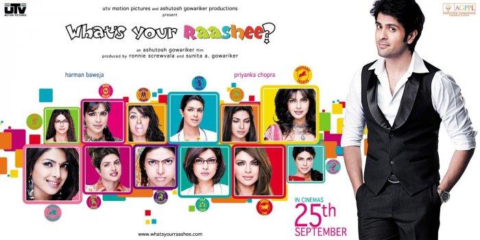 'What's Your Rashee?' was a 2009 film about zodiac signs. It starred Harman Baweja and Priyanka Chopra Jonas.