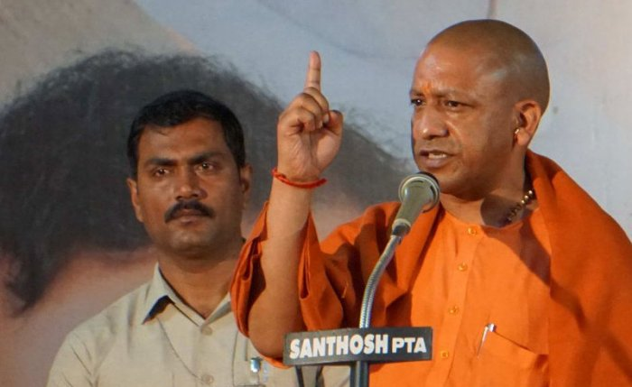 "Uttar Pradesh Chief Minister Yogi Adityanath stoked controversy on Tuesday, dubbing the Muslim League a ""green virus"" and suggesting that Hindu and Muslim voters are in an ""Ali-Bajrang Bali"" contest."