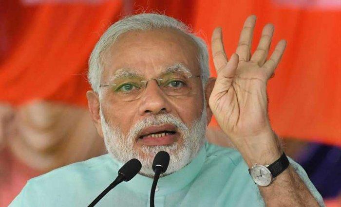 Prime Minister NarendraModi. PTI file photo