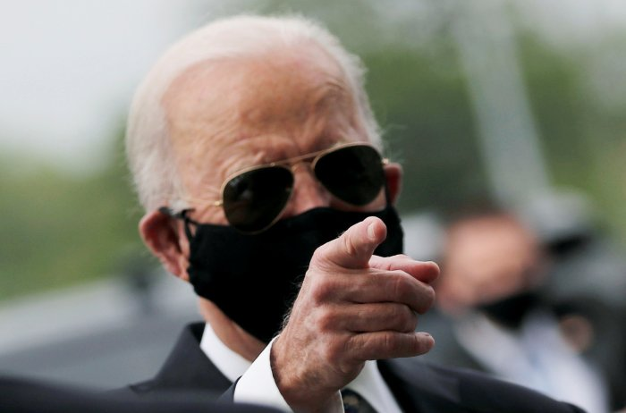 U.S. presidential candidate and former Vice President Joe Biden. (Reuters Photo)