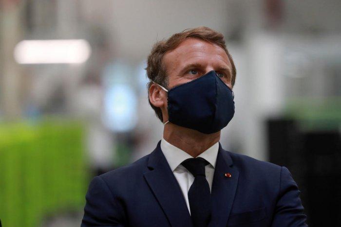French President Emmanuel Macron. (Reuters photo)