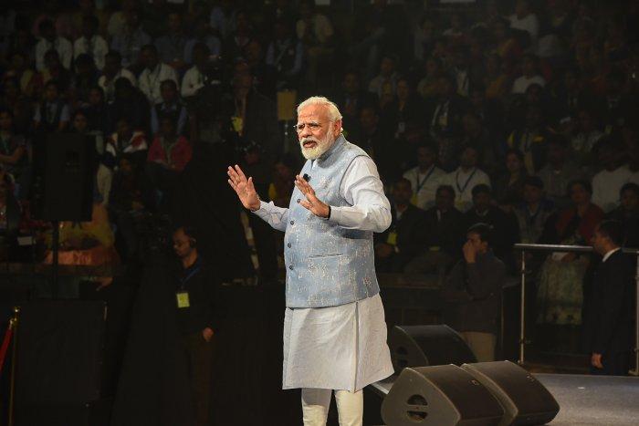 Prime Minister Narendra Modi (Credit: PTI photo)