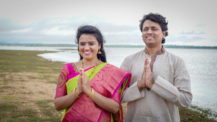 Bhavna Pradyumna started The Carnatic Conservatory of Paris in 2015, along with her husband, Pradyumna Kandadai.