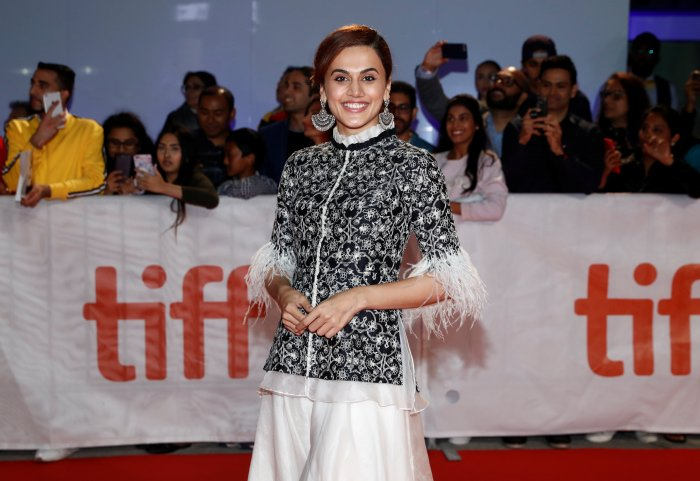 Actor Taapsee Pannu. Credit: Reuters Photo