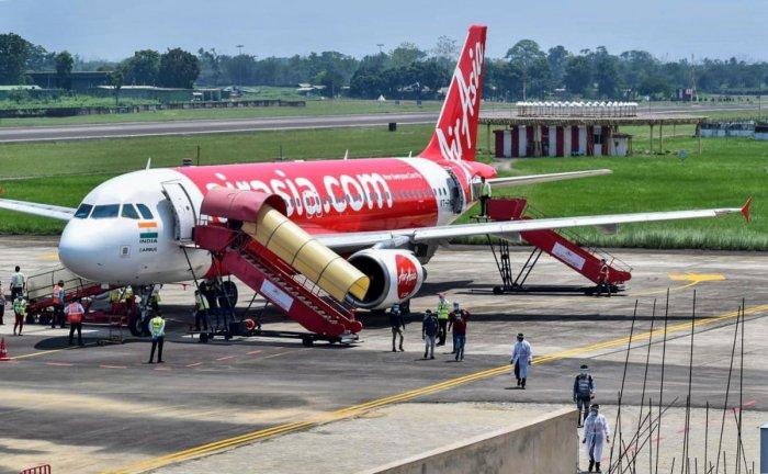 An AirAsia Flight. Credit: PTI Photo