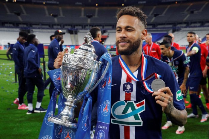 Neymar Wins French Cup Final For Psg But Mbappe Suffers Ankle Injury Deccan Herald