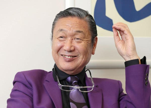 Japanese fashion designer Kansai Yamamoto. Credit: Reuters Photo