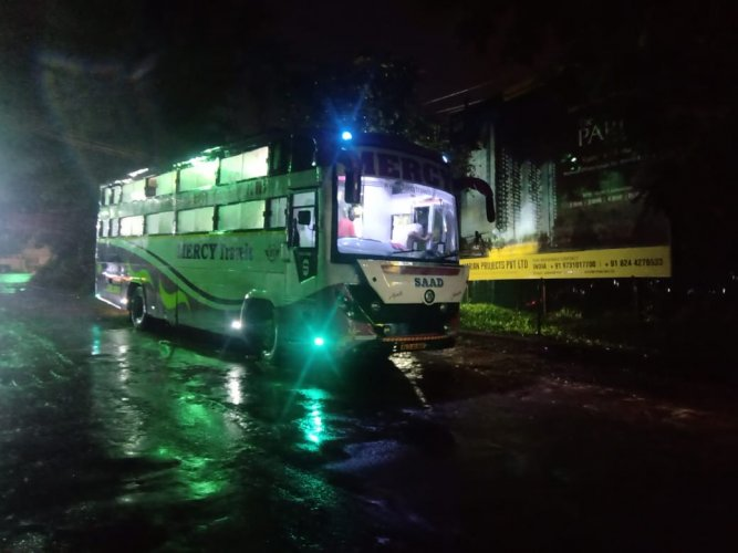 The bus which left Mangaluru on July 18 covered a whopping 5,100 kms and the expenses incurred in bringing back the labourers exceeded Rs 2 lakh