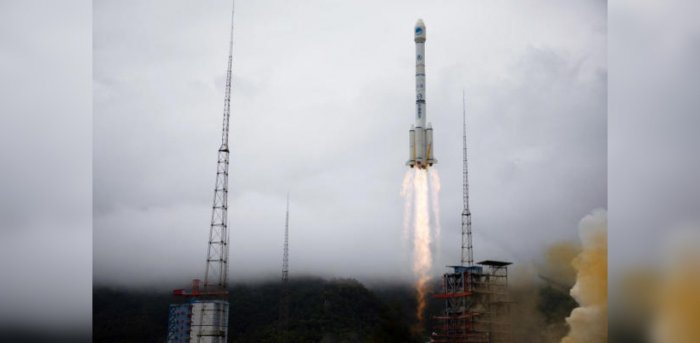 Long March-3B carrier rocket carrying the Beidou-3 satellite takes off from Xichang Satellite Launch Center. Credit: Reuters