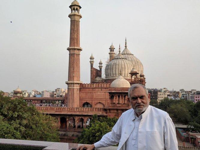 Delhi Minority Commission Chairman Zafarul-Islam Khan. Credit: Fcaebook (khan.zafarul)