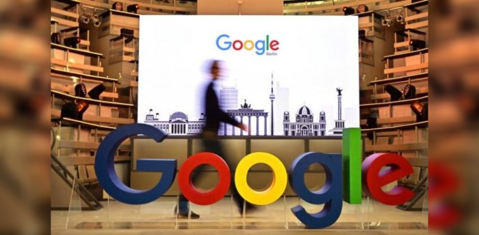 The logo of US internet search giant Google. Credit: AFP Photo
