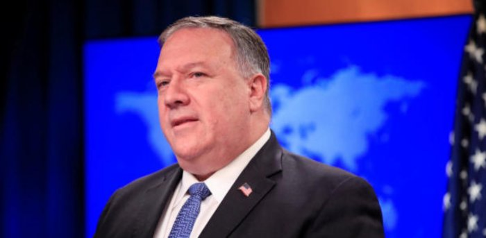 US Secretary of State Mike Pompeo. Credit: Reuters