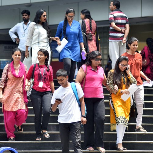 NEP emphasis on a more liberal undergraduate education that covers professional, technical, and vocational disciplines. DH Photo/B K Janardhan