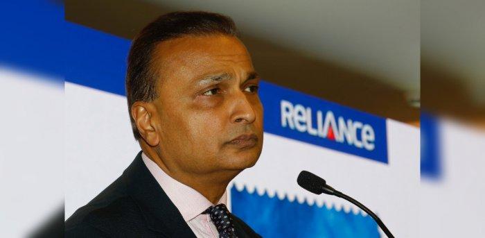 Anil Ambani. Credit: Reuters