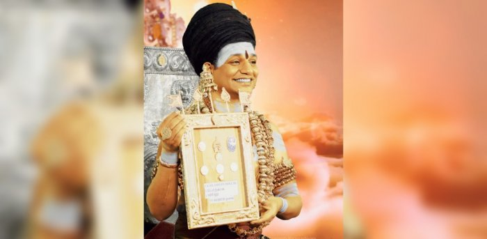Nithyananda released the Reserve Bank and currencies of Kailasa. Credit: Kailaasa.org