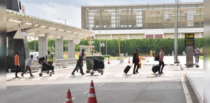 Kempegowda International Airport Bengaluru. Credit: File Photo